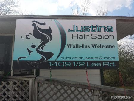 Banner Design - Justina