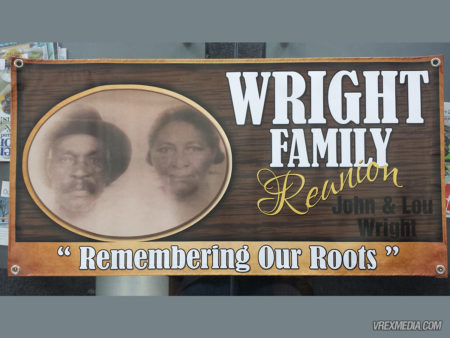 Banner Design - Wright Family Reunion