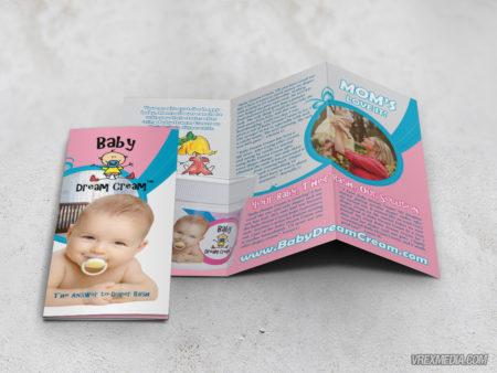 Brochure Design - Baby Dream Cream