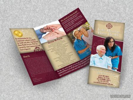 Brochure Design - Lake Houston Home Healthcare