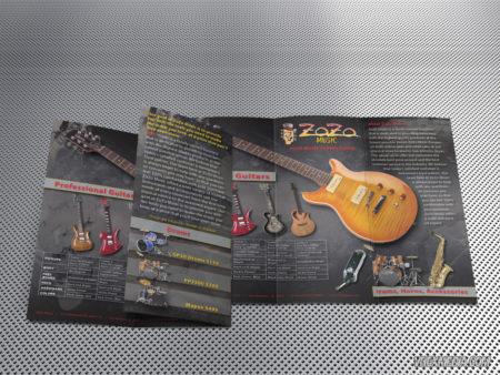 Brochure Design - ZoZo Music