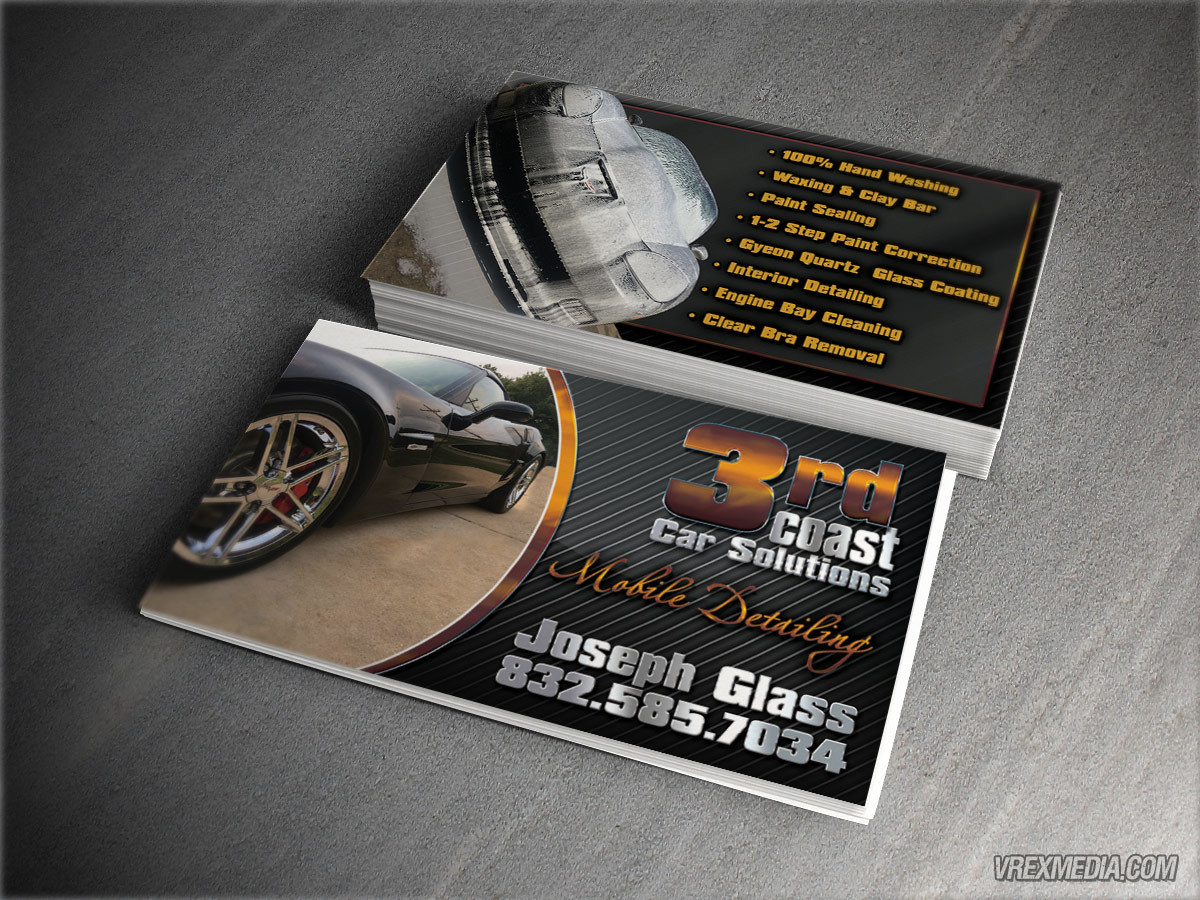 Business card design 3rd coast car solutions business card design 3rd coast car solutions magicingreecefo Images