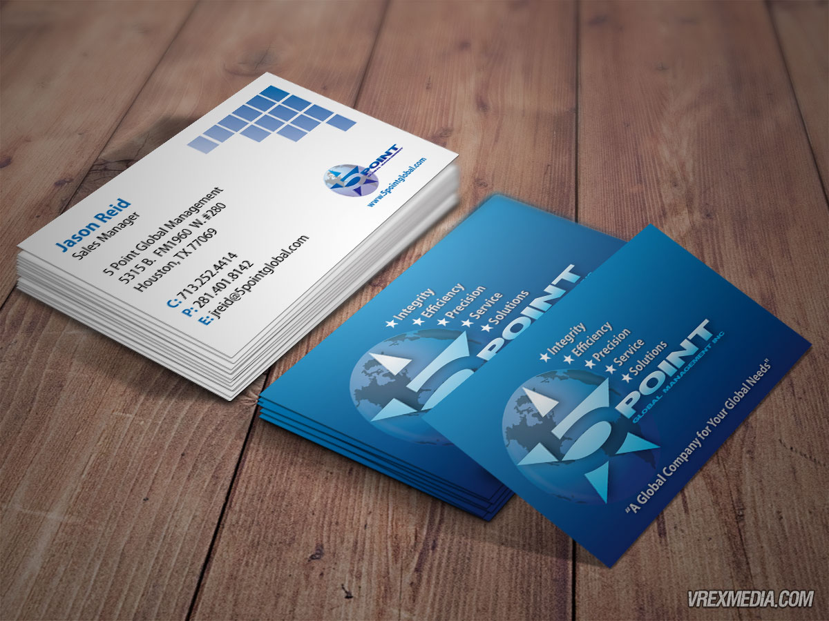 Business Card - 5 Point Global