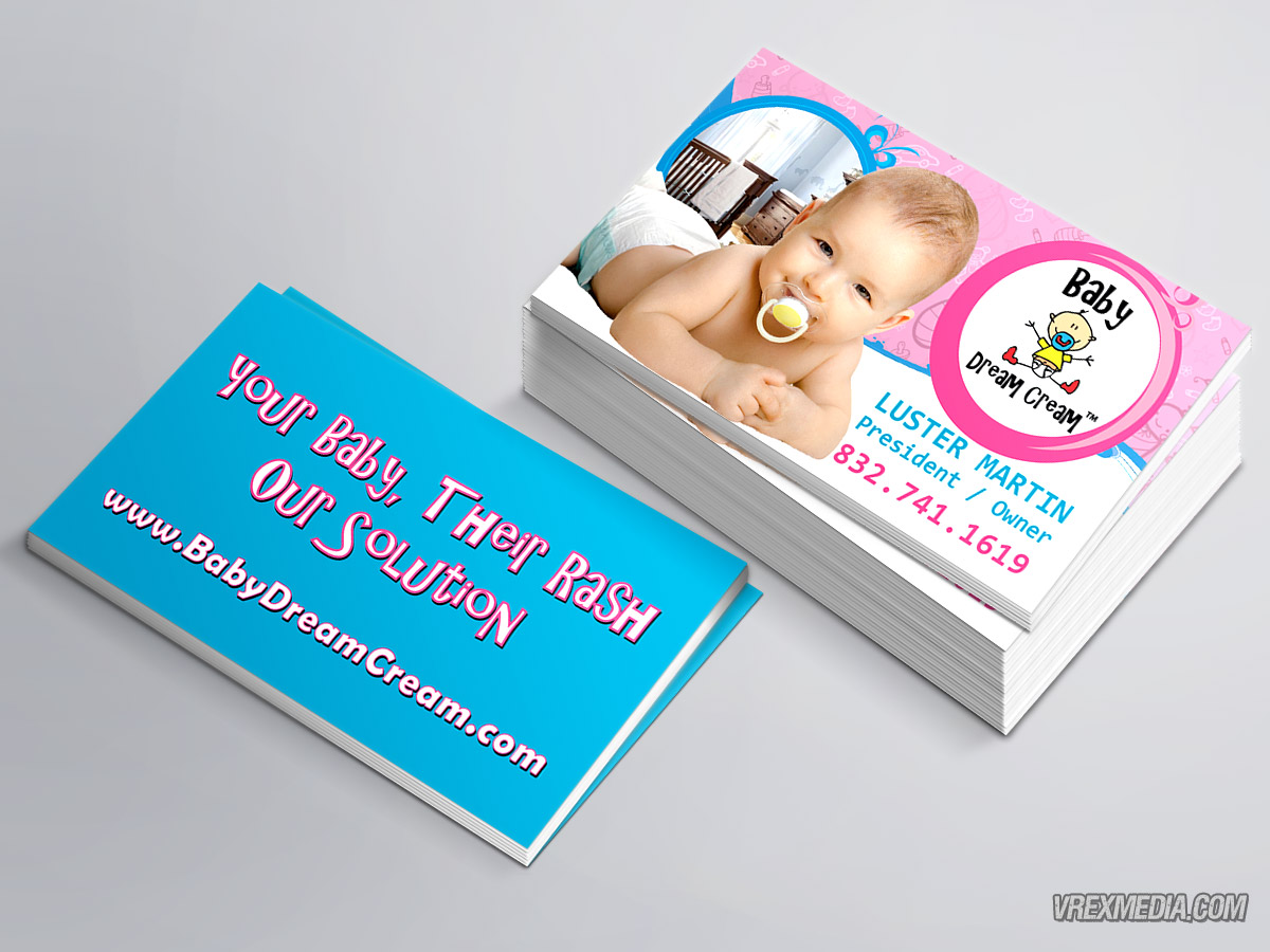 Business Card - Baby Dram Cream 1