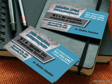 Business Card Design - Bob's Tax Teachers Promo