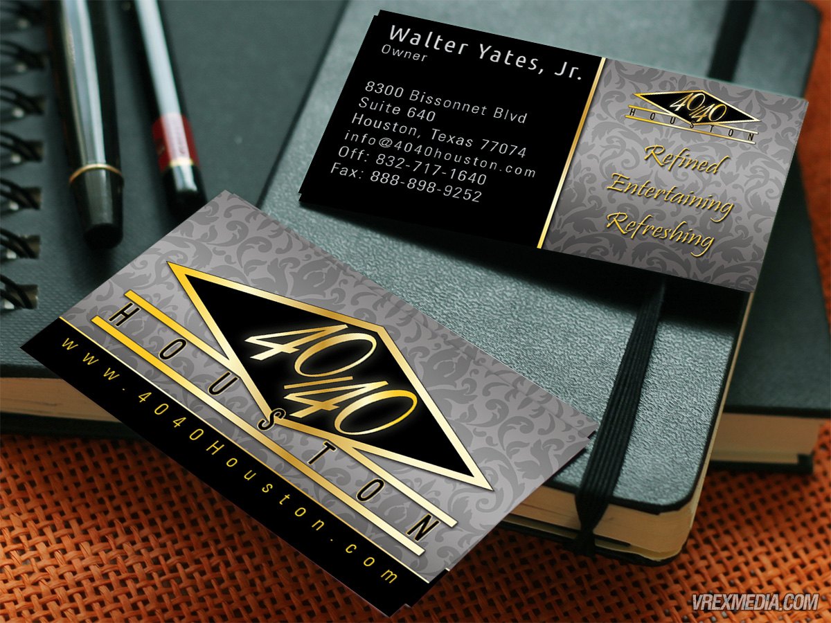 Business Cards - Club 4040