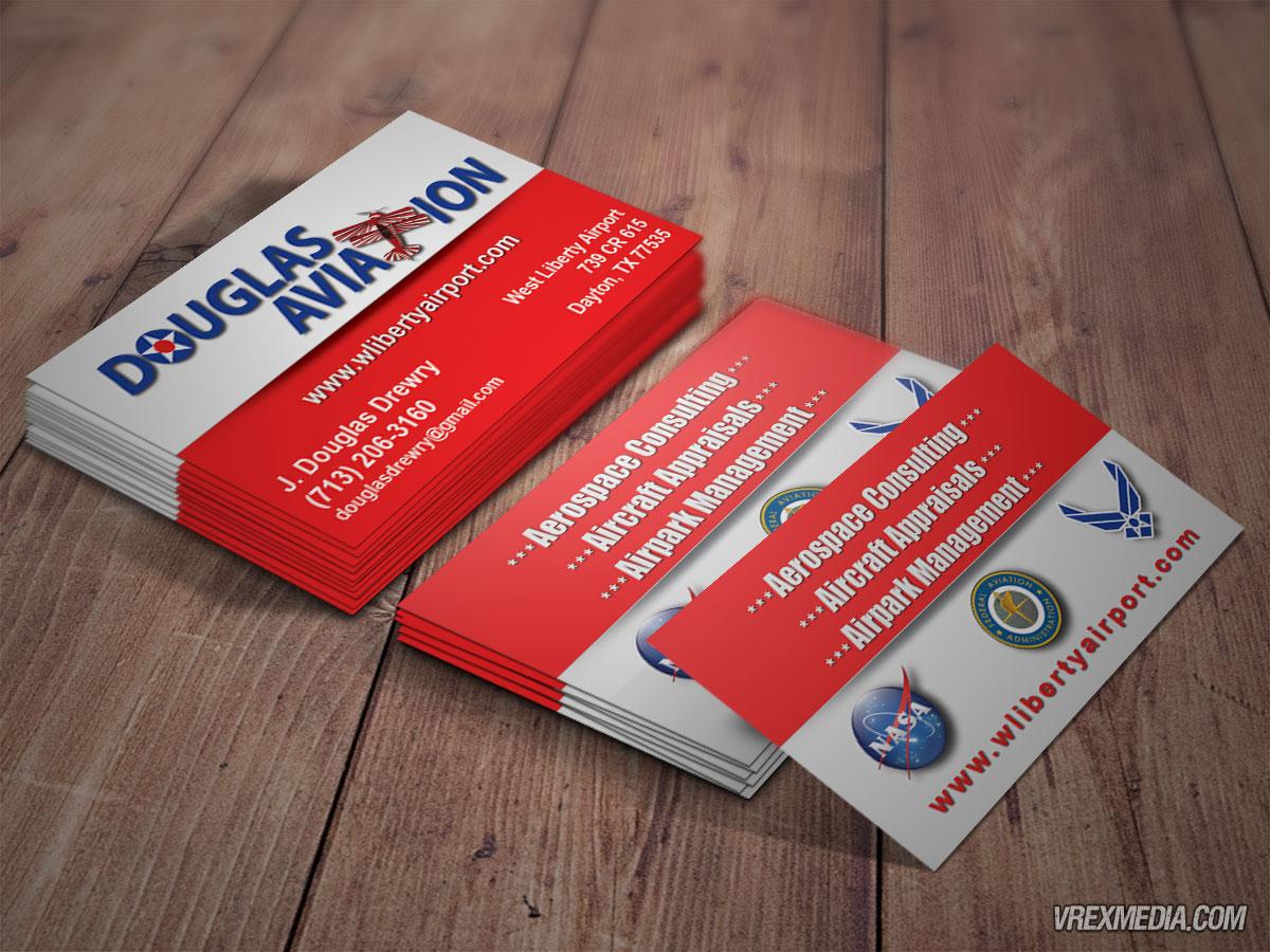 Business card design douglass aviation 2 business card design douglass aviation 2 colourmoves