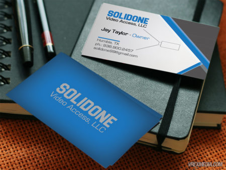 Business Card Design - SolidOne Video Access LLC