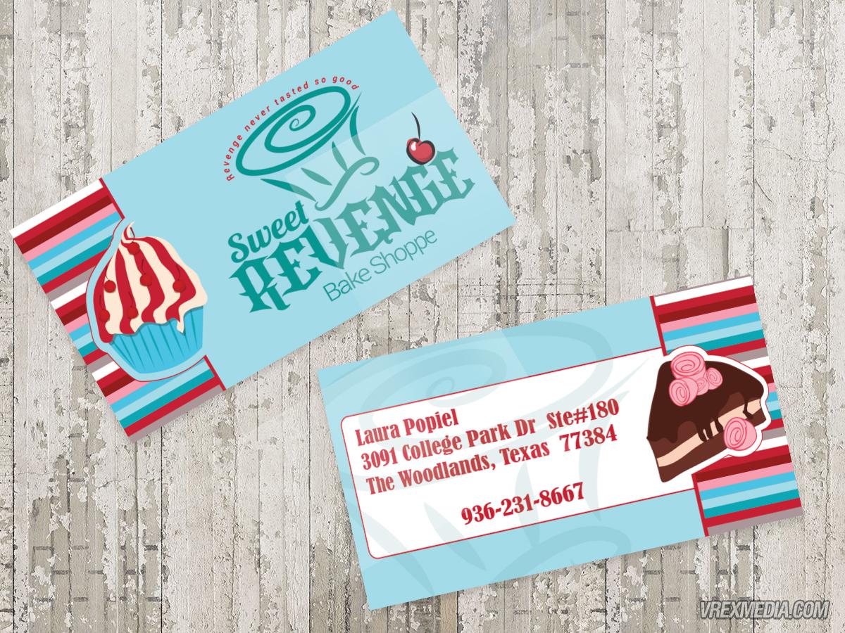 Business card sweet revenge bake shoppe 1 business card designsweet revenge bake shop1 reheart Images