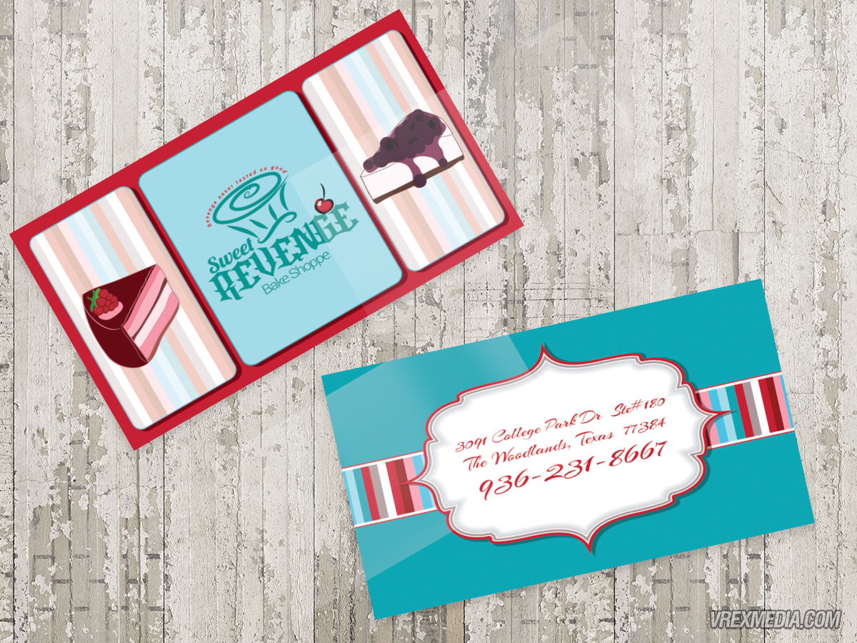 Business Card - Sweet Revenge Bake Shoppe 2