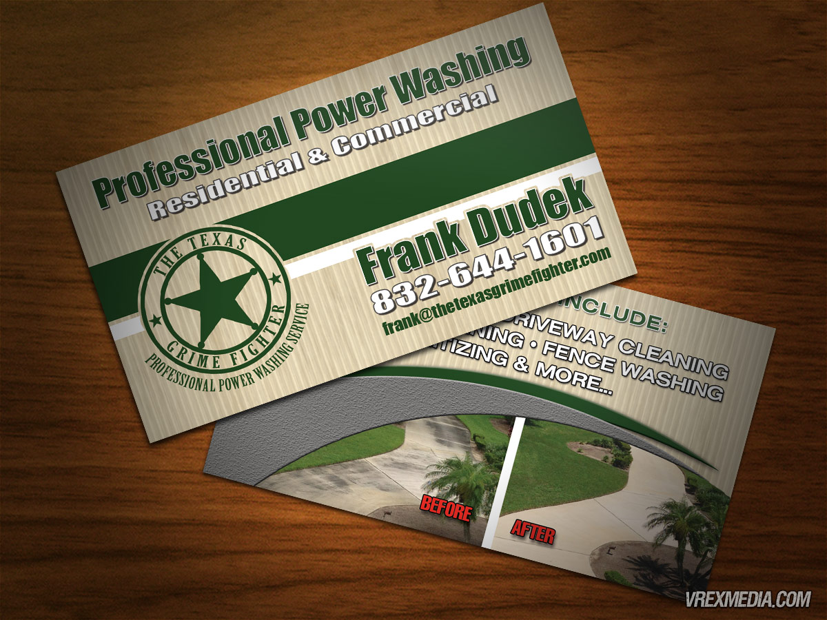 Business card design the texas grime fighter business card design the texas grime fighter colourmoves Choice Image