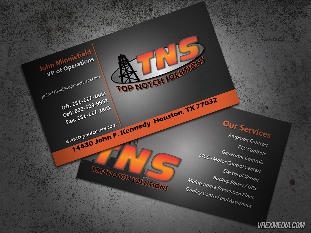 Business card top notch solutions business card top notch solutions reheart Images