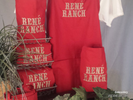 Embroidery - Rene Ranch