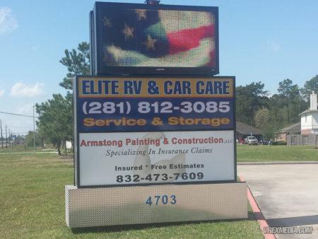 Exterior Sign - Elite Car Care