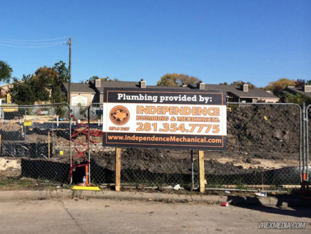 Site Sign - Independence Plumbing