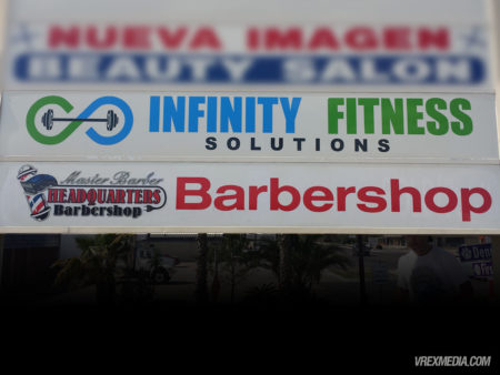 Marque Sign - Master Barber & Infinity Fitness