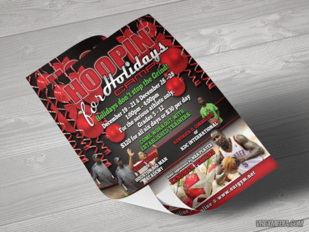 Flyer Design - Hoopn for Holidays