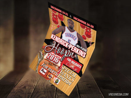 Flyer Design - Kendrick Perkins & TheGym