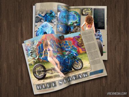 Magazine Feature - Blue Streak Busa