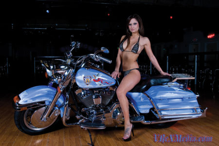 Brea with HD Road King 2