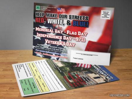 Postcard Designs - Flag Display