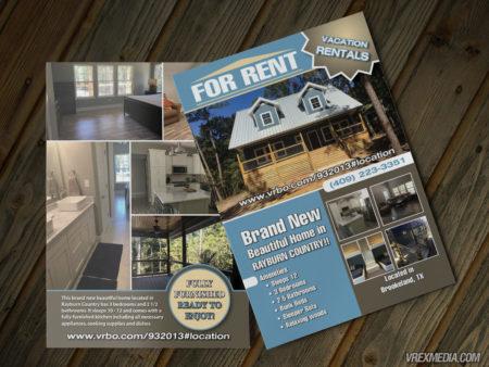 Postcard Design - House for Rent