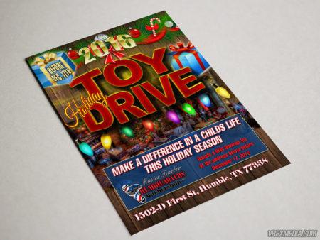 Postcard Design - Valo Toy Drive