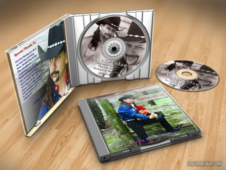 Product Packaging - Allen Folse CD