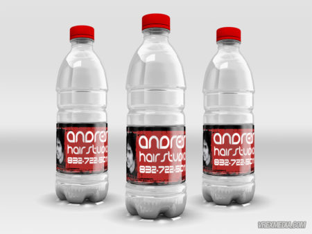 Product Packaging - Andre Water Bottle