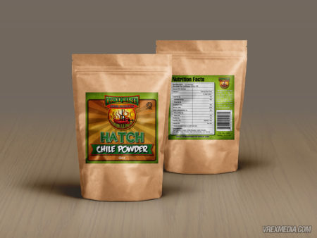Product Packaging - Chili Powder Label
