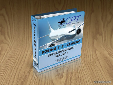 Product Packaging - Crew Pilot Training Binder