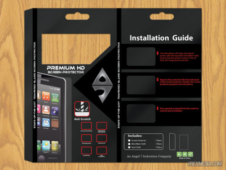 Product Packaging - Phone Protector