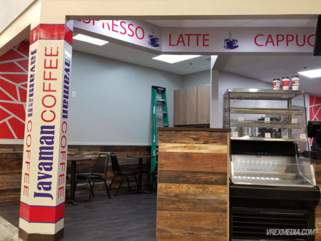 Store Front Decals - Javaman Coffee