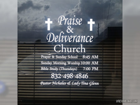 Store Front Signage - Praise Deliverance Church