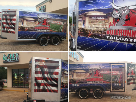 Vehicle Wrap - Bull Runners Tailgaters