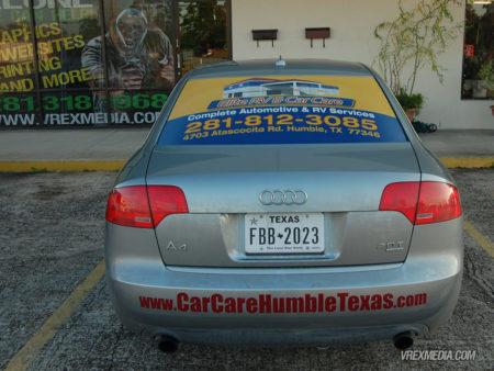 Vehicle Wrap - Elite Car Care