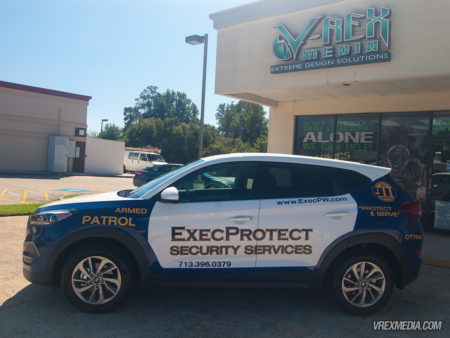 Exect Protect Patrol Vehicle