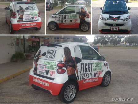 Vehicle Wrap - I Love Kickboxing