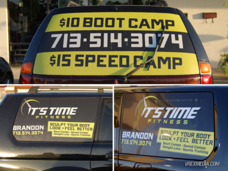 Vehicle Wrap - Its Time Fitness