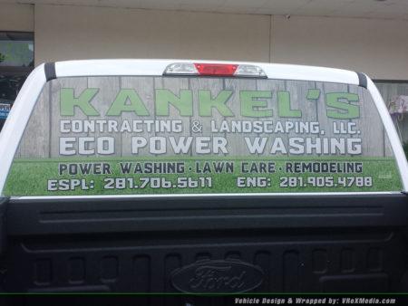 Vehicle Window Perf - Kankels Contracting