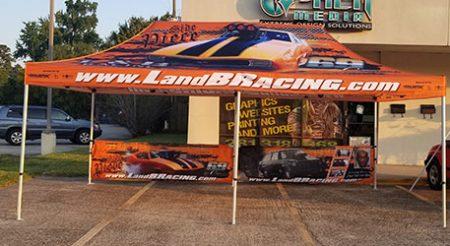 L&B Racing Canopy Tent