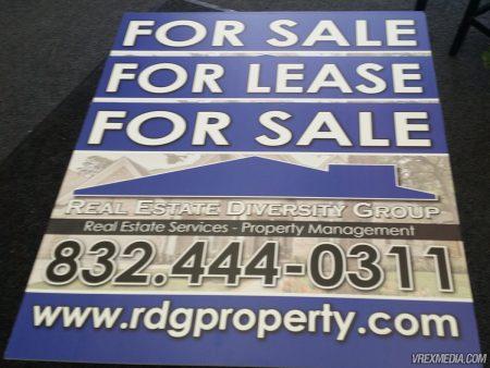 RDG Property Yard Sign