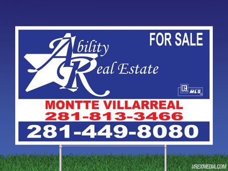 Ability Realty Yard Sign