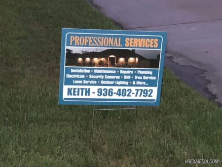 Donaldson Professional Services Yard Sign