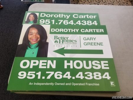 Dorothy Carter Open House Yard Sign