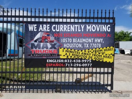 Max Truck Banner