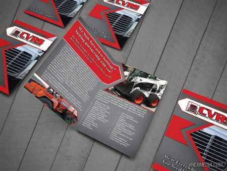 Commercial Vehicle Repair Service Brochure