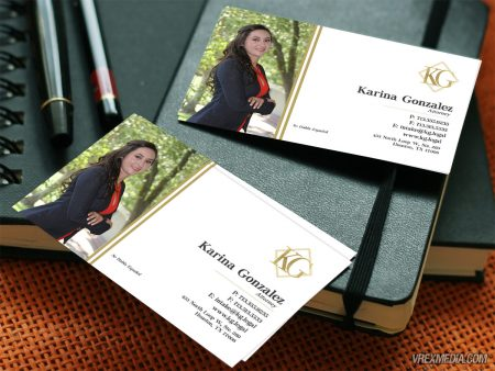 Karina Gonzalez Business Cards