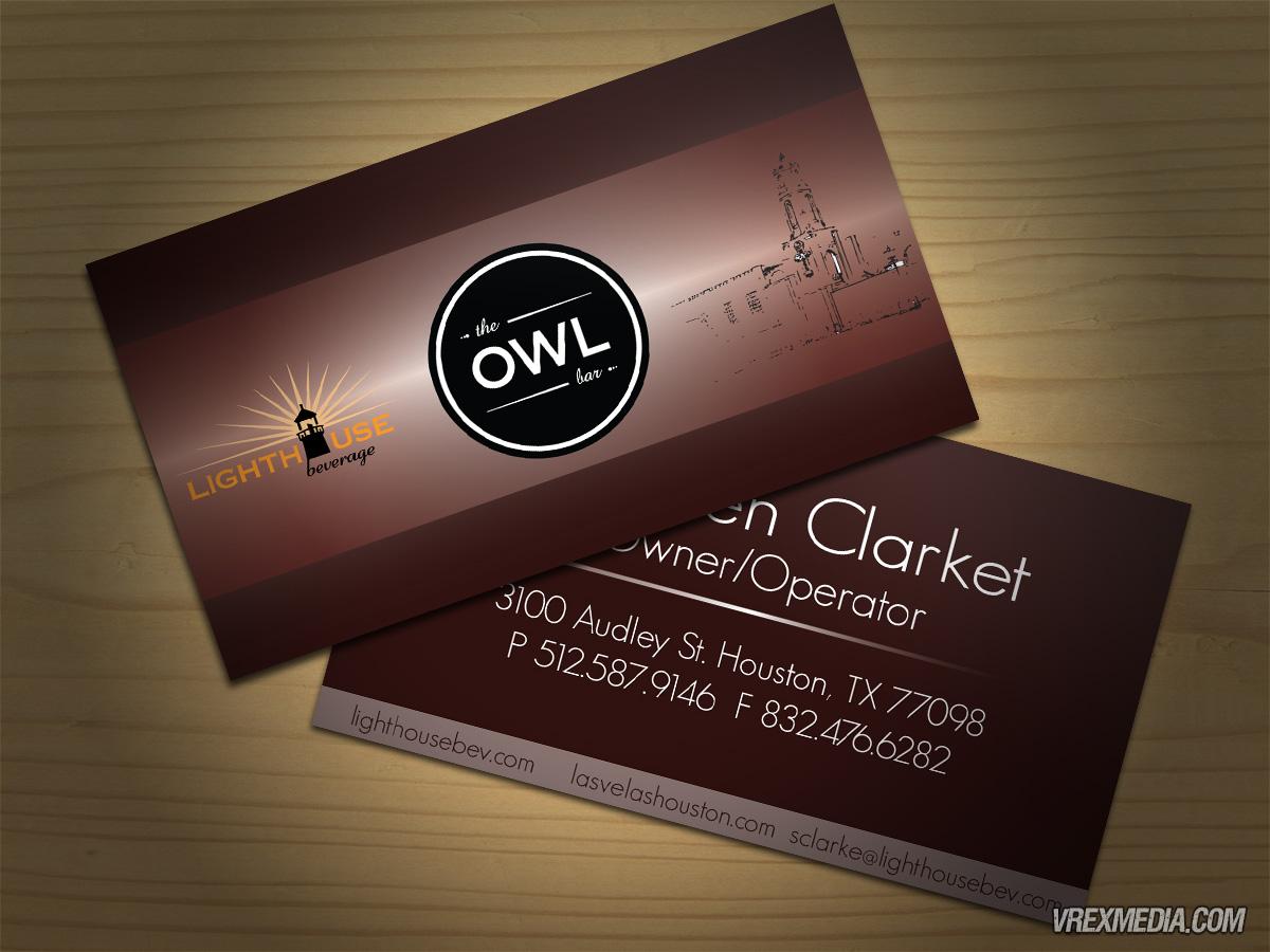 Business card design lighthouse beverages business card design lighthouse beverages colourmoves