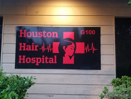 Houston Hair Hospital Sign